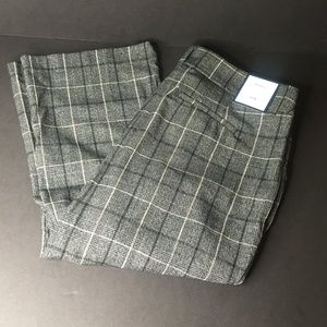 Womens Charter Club Plaid Capri Pants Size 14W E37